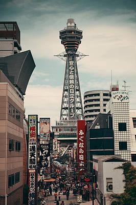 Photograph - Tsutenkaku  by Songquan Deng