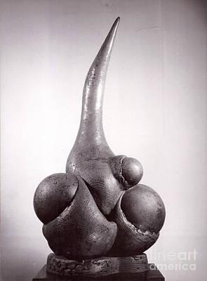 Sculpture - Tuber Form I by Robert F Battles