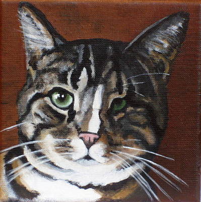 Painting - Tucker by Carol Russell