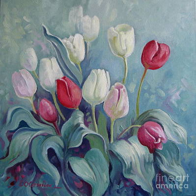 Painting - Tulips by Elena Oleniuc