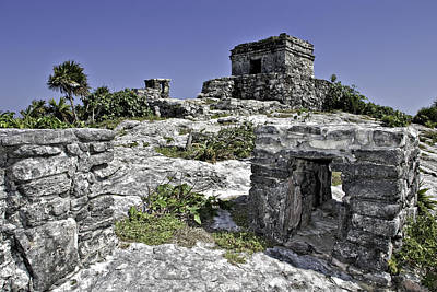 Photograph - Tulum by Gary Shepard