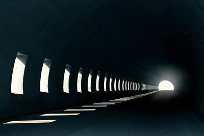 Photograph - Tunnel by Joana Kruse
