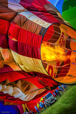Photograph - Metamora Hot Air Balloon Festival by LeeAnn McLaneGoetz McLaneGoetzStudioLLCcom