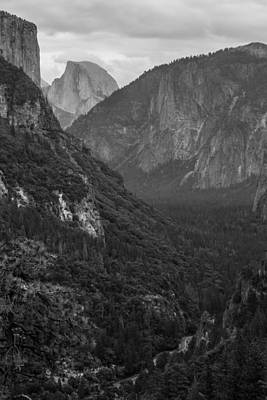 Photograph - Tunnel View by Christopher Perez