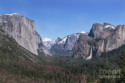 Photograph - Tunnel View by Richard Verkuyl