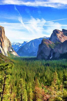 Photograph - Tunnel View Yosemite National Park  by Chuck Kuhn
