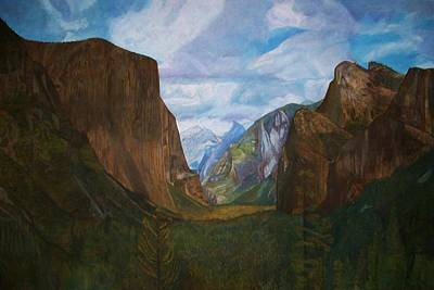 Half Dome Mixed Media - Tunnel Vision by Arvin Nealy
