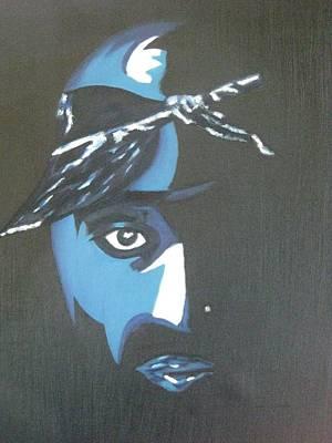 Tupac Art Print by James Dolan