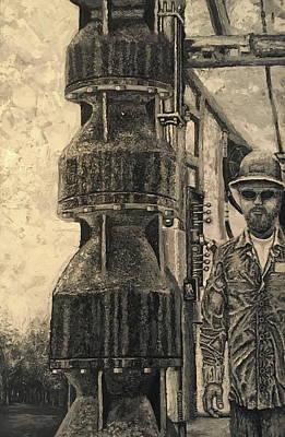 Turbine Pump  Art Print by Shawn Marlow