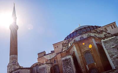 Turkey Istambul Hagia Sophia Mosque  Art Print