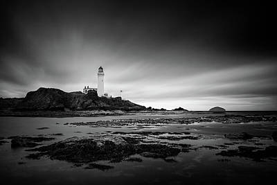 Photograph - Turnberry Lighthouse by Ian Good