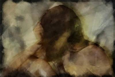 Digital Art - Turning Away by Gun Legler