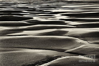 Wave Pattern Photograph - Turning Of The Tide by Tim Gainey