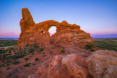 Southwest Landscape Photograph - Turret Arch Sunrise by Darren White