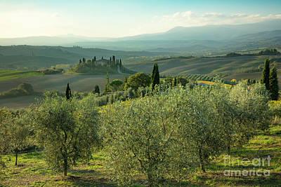 Photograph - Tuscan Dawn by Brian Jannsen