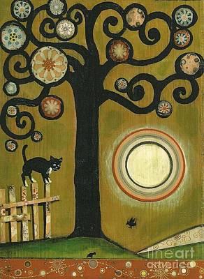 Painting - Tuxedo Cat by Margaryta Yermolayeva