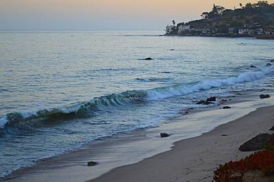 Photograph - Twilight At Malibu Colony Beach by Tommi Trudeau