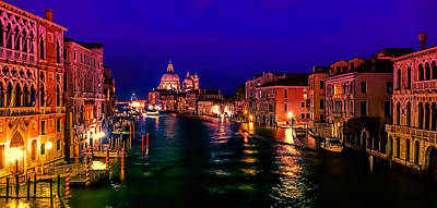 Photograph - Twilight In Venice by Maria Coulson