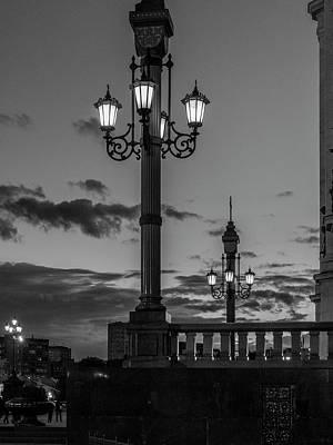 Photograph - Twilight At Moscow. by Usha Peddamatham
