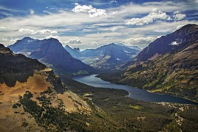Photograph - Two Medicine Lake Glacier Park by Waterdancer