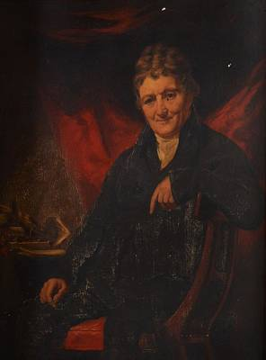 Two Portraits Of Seated Gentleman Art Print by Henry Raeburn