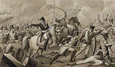 Two Scenes From The Napoleonic Wars Art Print by MotionAge Designs