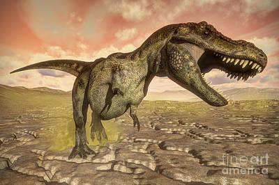 Michael Jackson - Tyrannosaurus Rex Roaring by Elena Duvernay