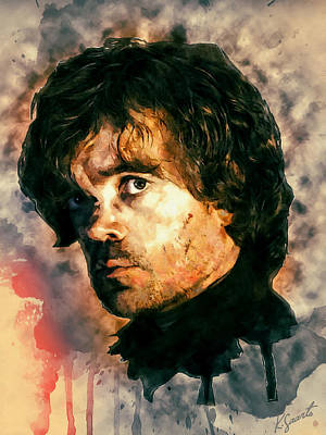 Digital Art - Tyrion Lannister by Kai Saarto
