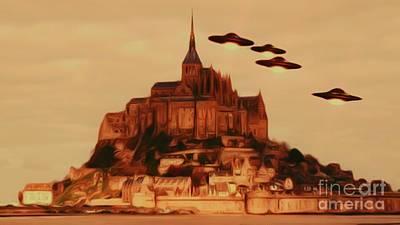 Science Fiction Digital Art - UFO Invasion by Raphael Terra