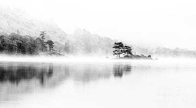 Norfolk Photograph - Ullswater Dawn by Janet Burdon
