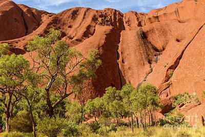 Photograph - Uluru 07 by Werner Padarin