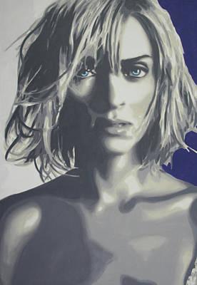 Kill Bill Painting - Uma by Luis Ludzska