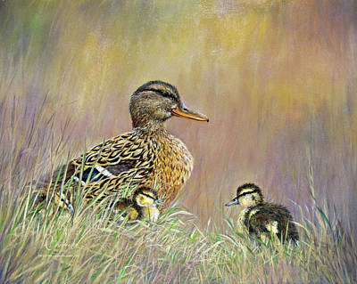 Painting - Under Her Watchful Eye by Dee Carpenter