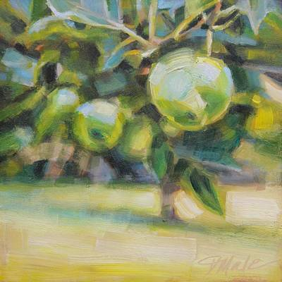 Painting - Under The Apple Tree by Tracy Male