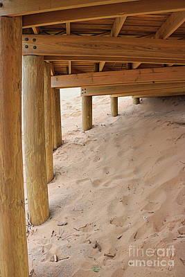 Photograph - Under The Boardwalk by Erick Schmidt