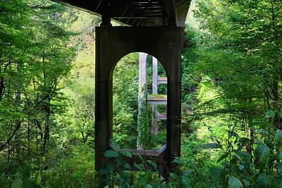Photograph - Under The Bridge by Kathryn Meyer