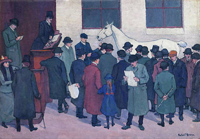 Under The Hammer Print by Robert Bevan