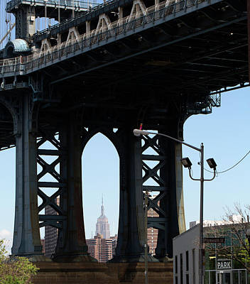 Photograph - Under The Manhattan Bridge 6 by John Hoey