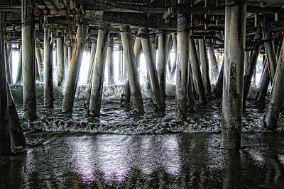 Digital Art - Under The Pier 2 by Joe Lach