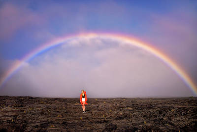 Photograph - Under The Rainbow by Nicki Frates