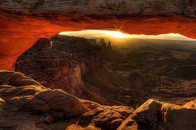 Mesa Arch Photograph - Underglow  by Ryan Smith
