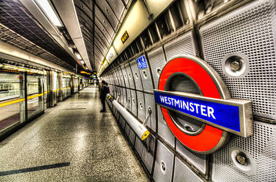 London Tube Photograph - Underground London by David Pyatt