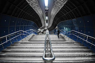 Underground Stair Art Print by Svetlana Sewell
