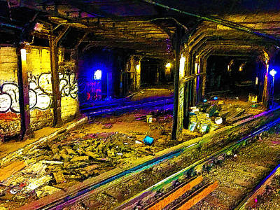Painting - Underground by Tony Rubino