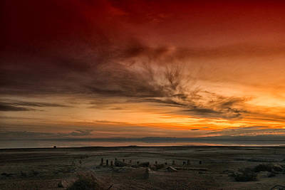 Art Print featuring the photograph The Salton Gateway by Mike Trueblood