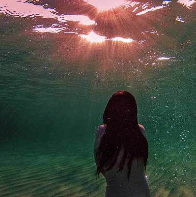 Photograph - Underwater Sunset by Gemma Silvestre