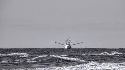 Photograph - Underway by Ed Waldrop