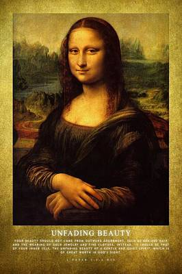 Mona Lisa Photograph - Unfading Beauty by Roman Dela Rosa