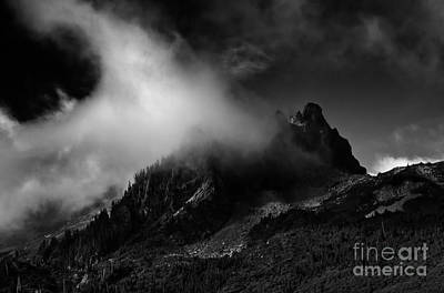 Photograph - Unicorn Peak by Mike Dawson
