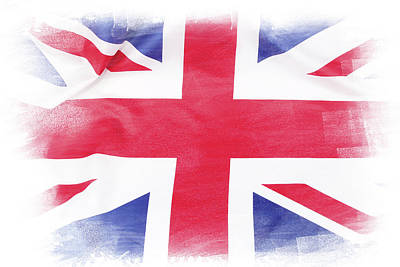 Photograph - Union Jack Flag by Les Cunliffe